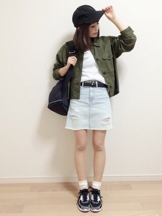 「ニューハッタンキャップ(meJane)」 using this mAy☆uMe looks