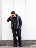 Takamyさんの(leathertramp)を使ったコーディネート