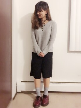 「【Dr. Martens】1461 59 3EYE SHOE(Dr.Martens)」 using this renake looks
