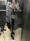 Vivian-Cさんの「WOMEN コットンカシミヤクルーネックセーター(長袖)(ユニクロ|ユニクロ)」を使ったコーディネート