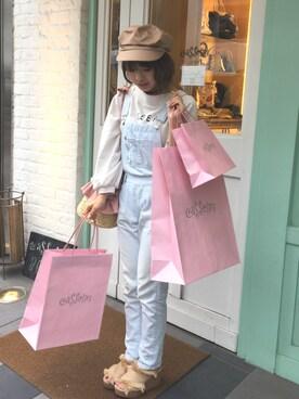 Casselini shop|杉本潤香さんのコーディネート