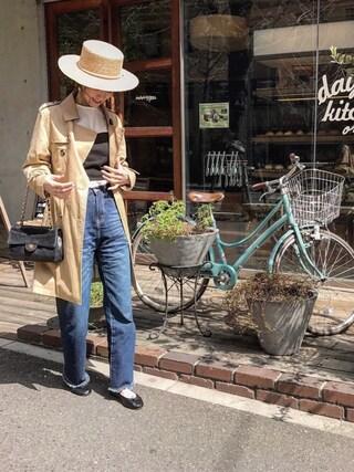 asukaさんの「【一部予約】ポンチ ビスチェ(Another Edition|アナザーエディション)」を使ったコーディネート