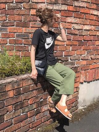 「【Nike】Women's Nike Sportswear Essential T-Shirt(NIKE)」 using this asuka looks