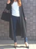 misaさんの「足にFIT☆痛くなりにくい走れる美脚パンプス[XS~3L]トリプルクッション☆機能系5cmヒールベーシックパンプス/神戸レタス[I940](KOBE LETTUCE KOBE LETTUCE)」を使ったコーディネート