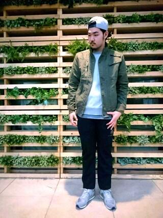 AVIREX 新宿|Tsubatsubaさんの(AVIREX|アヴィレックス)を使ったコーディネート