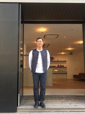 Saturdays NYC Kobe|Shotanukiさんのコーディネート