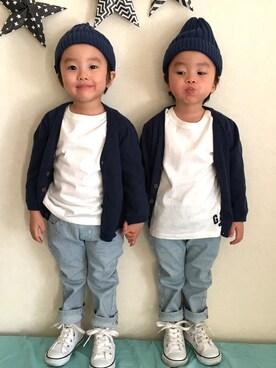 haku♡sakuさんの(babyGAP|babyGAP)を使ったコーディネート