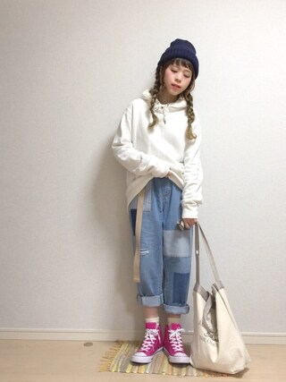 「MEN スウェットプルパーカ(長袖)(ユニクロ)」 using this ☆★gizmo★☆ looks