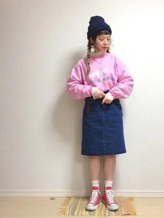 「CONVERSE コンバース ALL STAR HI オールスター ハイ(CONVERSE)」 using this ☆★gizmo★☆ looks