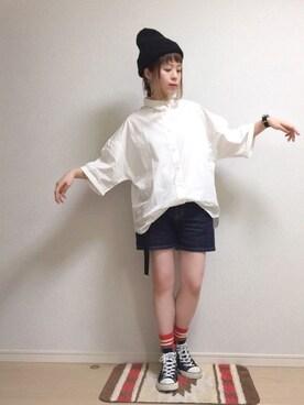 ☆★gizmo★☆さんの(靴下屋|クツシタヤ)を使ったコーディネート