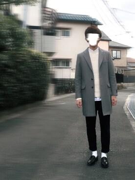 ぽにょさんの(SENSE OF PLACE by URBAN RESEARCH センス オブ プレイス バイ アーバンリサーチ)を使ったコーディネート