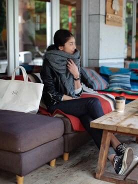 REIKA YOSHIDAさんの(SAINT LAURENT PARIS|サンローランパリ)を使ったコーディネート