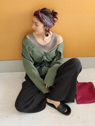 REIKA YOSHIDAさんの(TODAYFUL|トゥデイフル)を使ったコーディネート