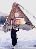 しまゆうさんの「Raibow Umbrella/レインボーアンブレラ(OLD BETTY'S オールドベティーズ)」を使ったコーディネート