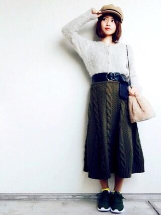 しまゆうさんの「メルトンマリンキャップ【PLAIN CLOTHING】(PLAIN CLOTHING|プレーンクロージング)」を使ったコーディネート