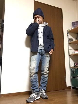 「ビーミング by ビームス / ストレッチモールバンドカラーシャツ(B:MING by BEAMS)」 using this 加藤浩志 looks