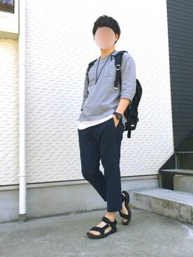 SUNさんの「【narifuri】 Back pack S(narifuri|ナリフリ)」を使ったコーディネート