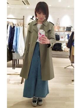 omekashi 新宿ルミネエスト店|kitanoさんの(mystic|ミスティック)を使ったコーディネート