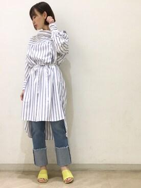 omekashi 新宿ルミネエスト店|kitanoさんの(KMB|ケーエムビー)を使ったコーディネート