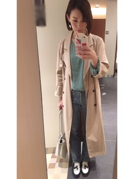 omekashi 新宿ルミネエスト店 |kitanoさんのシャツ/ブラウス「【Omekashi】楊柳バルーン袖ブラウス(Omekashi|オメカシ)」を使ったコーディネート