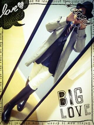 「インソール2cm入れてギリギリ(笑)(AIGLE)」 using this kooi looks