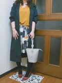 wa-noさんの「ステンカラーコート(titivate|ティティベイト)」を使ったコーディネート