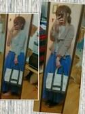 .#am#.さんの「DOORS ギャザーフレアマキシスカート(URBAN RESEARCH DOORS WOMENS|アーバンリサーチ ドアーズ ウィメンズ)」を使ったコーディネート