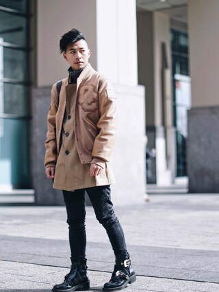 「Balenciaga Ceinture Leather Derby Boots(Balenciaga)」 using this Tommy Lei (MYBELONGING) looks
