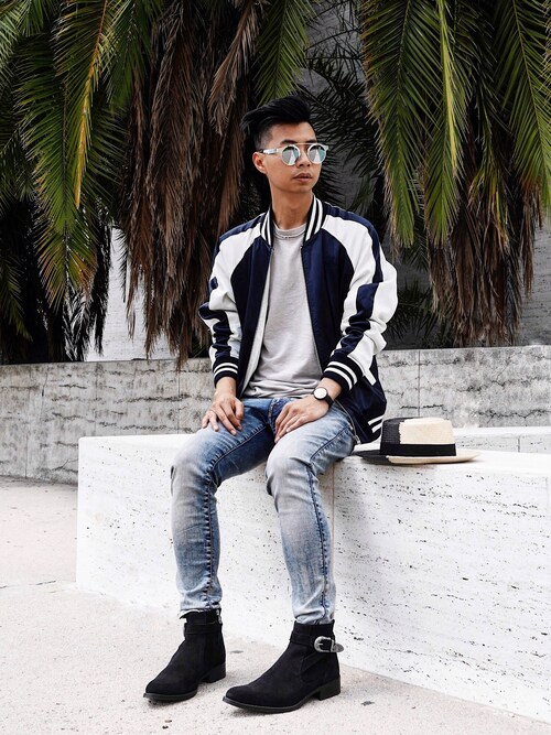 (G-STAR RAW) using this Tommy Lei (MYBELONGING) looks