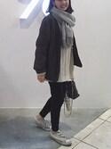 mayumi+さんの「Canada(ACNE|ザラ)」を使ったコーディネート