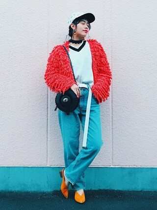 「MV JW Tapered(MOUSSY)」 using this TAE looks