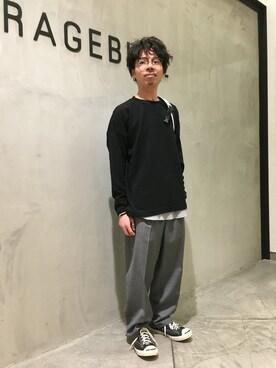 RAGEBLUE札幌ステラプレイス店 白石さんの(RAGEBLUE レイジブルー)を使ったコーディネート