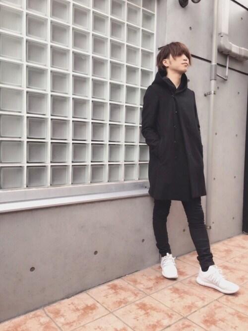 わたる【All Black】さんの(KAZUYUKI KUMAGAI ATTACHMENT)を使ったコーディネート