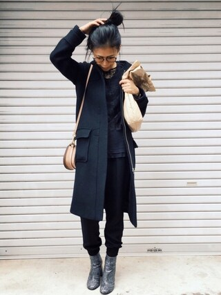 「STELLA MCCARTNEY Block-heel faux-leather ankle boots(Stella McCartney)」 using this HAL  looks