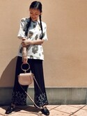 「GUCCI Princetown leather backless loafers(Gucci)」 using this HAL  looks