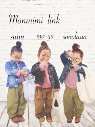 ma-yuさんの(monmimi)を使ったコーディネート
