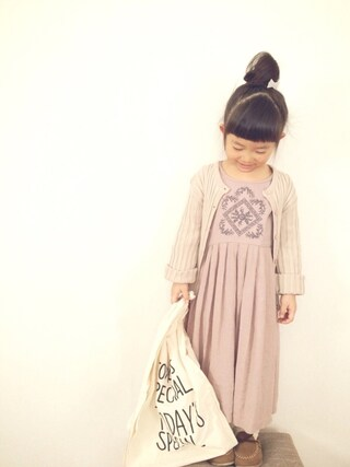 ma-yuさんの「ミニマルシェバッグ / Mini Marche Bag(CIBONE|シボネ)」を使ったコーディネート