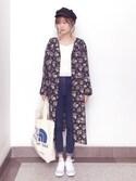 wei☆chanさんの「Sonny Label コーデユロイキャスケット(URBAN RESEARCH Sonny Label|アーバンリサーチサニーレーベル)」を使ったコーディネート