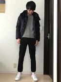 19kenta95さんの「西川ダウンG2ジャケット(nano・universe ナノユニバース)」を使ったコーディネート
