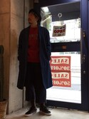BENCH AT THE GREENEさんの「【VANS/バンズ】OLD SKOOL/オールドスクール(LEOPARDA)(VANS|バンズ)」を使ったコーディネート