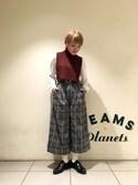 ナカヨシ サキさんの「BEAMS BOY / タートル ネックウォーマー(BEAMS BOY|ビームスボーイ)」を使ったコーディネート