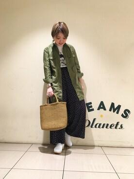 ナカヨシ サキさんの(Demi-Luxe BEAMS|デミルクス ビームス)を使ったコーディネート