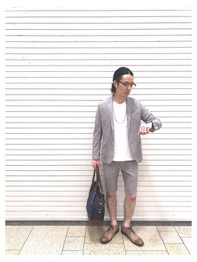adonis green ピオレ姫路店|Sugimotoさんの(VOGUISH|ボーギッシュ)を使ったコーディネート