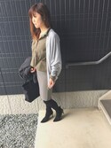 (URBAN RESEARCH) using this saco looks