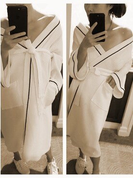 (hotel robes) using this Mindy  Zou looks
