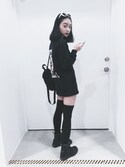 「Dickies X UO Mini Backpack(Dickies)」 using this Serena Chen looks