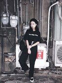 「Dickies X UO Mini Backpack(Dickies)」 using this Serena Chen looks