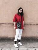 Serena Chenさんの「Women's Vans Old Skool Sneaker(Vans|バンズ)」を使ったコーディネート