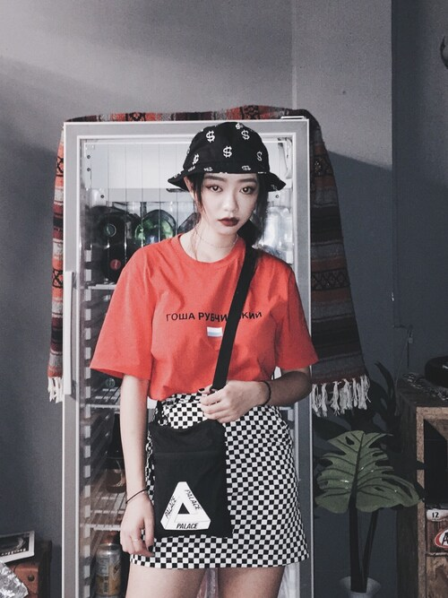 「Money Bucket Hat(STUSSY)」使用Serena Chen的搭配