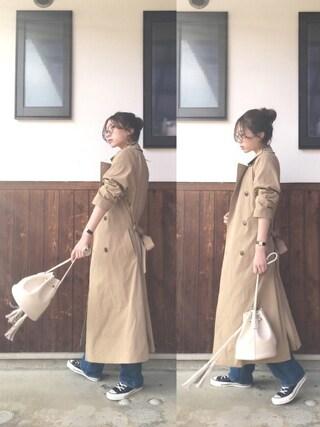 shihoさんの「ショルダーバッグ(goocy|グースィー)」を使ったコーディネート